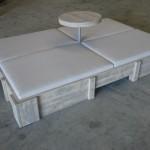 bain de soleil avec table 6
