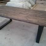 table pied en metal 6